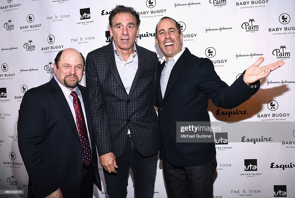 Jerry Seinfeld Hosts Inaugural Los Angeles Fatherhood Lunch To Benefit Baby Buggy : News Photo