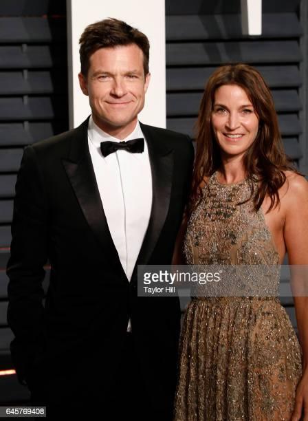 Actors Jason Bateman and Amanda Anka attend 2017 Vanity Fair Oscar Party Hosted By Graydon Carter at Wallis Annenberg Center for the Performing Arts...