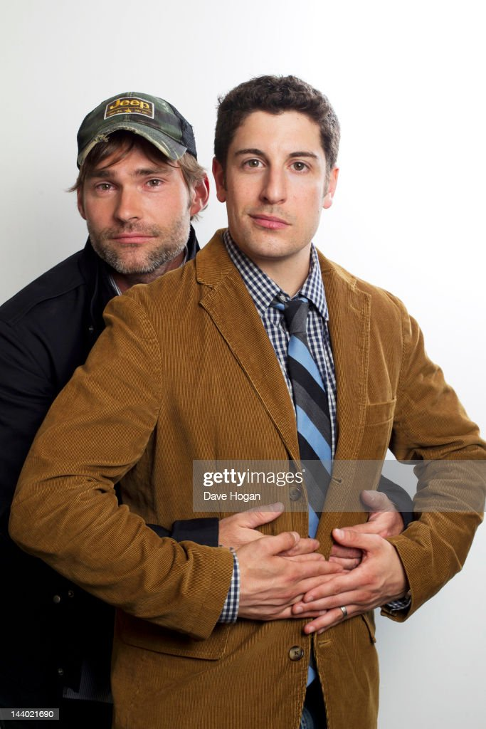 Jason Biggs And Seann William Scott Portrait Session