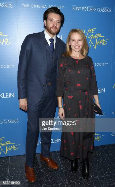 Actors Jason Butler Harner and Amy Ryan attend the screening of Sony Pictures Classics' 'Call Me By Your Name' hosted by Calvin Klein and The Cinema...