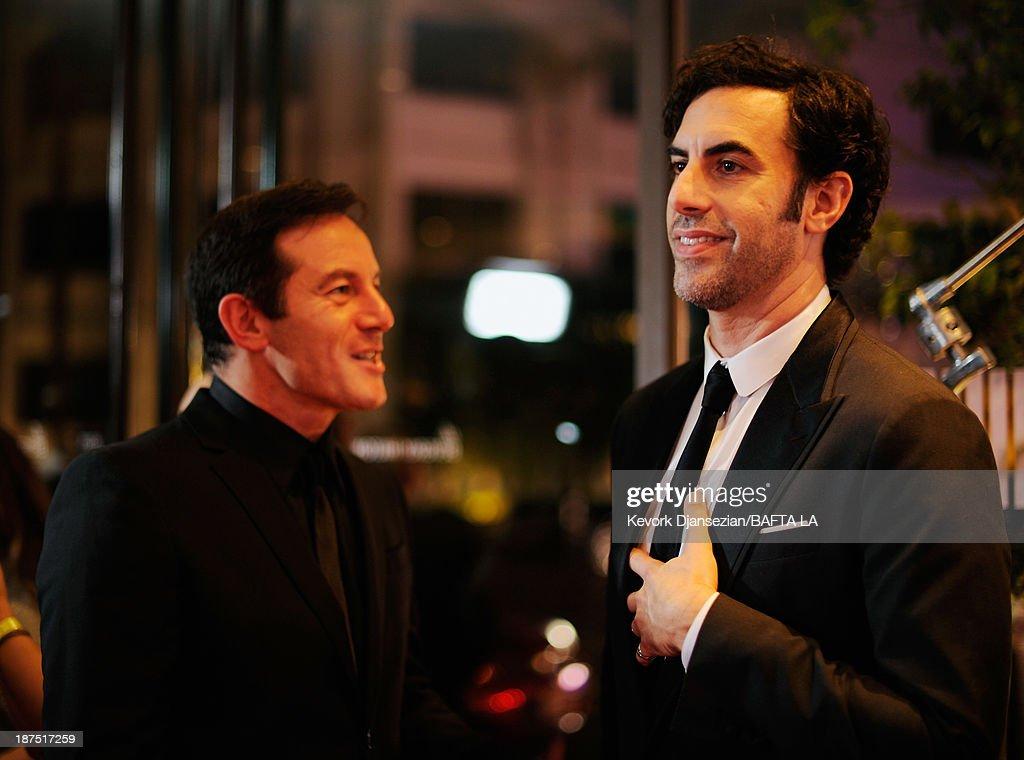 2013 BAFTA LA Jaguar Britannia Awards Presented by BBC America - Red Carpet : News Photo