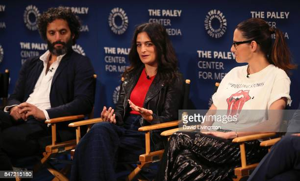 Actors Jason Mantzoukas Jenny Slate and Jessi Klein attend The Paley Center for Media's 11th Annual PaleyFest fall TV previews Los Angeles for...
