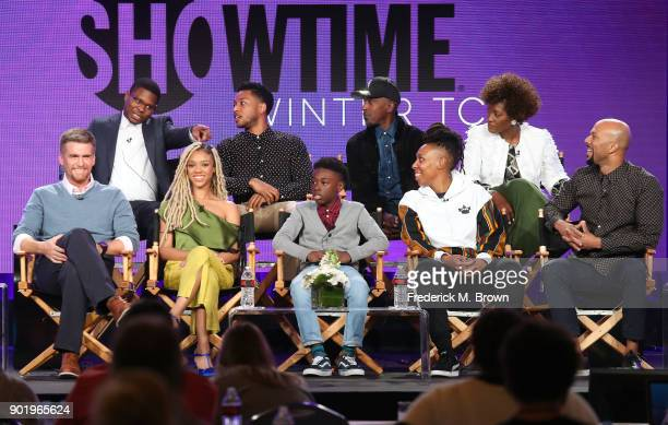 Actors Jason Mitchell Jacob Latimore Ntare Guma Mbaho Mwine Yolonda Ross actors Armando Riesco Tiffany Boone Alex Hibbert creator/executive producer...