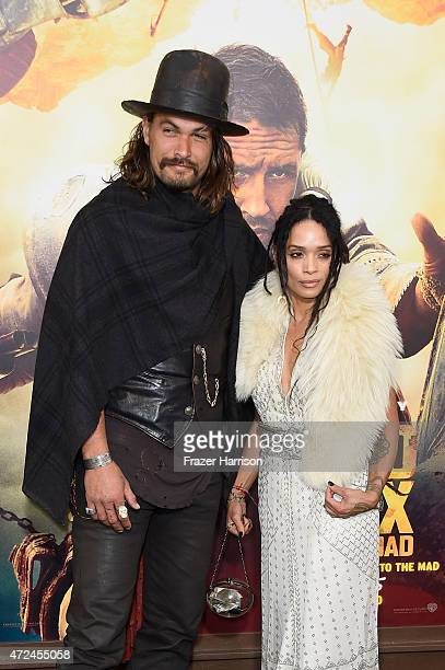 Actors Jason Momoa and Lisa Bonet attend the premiere of Warner Bros Pictures' Mad Max Fury Road at TCL Chinese Theatre on May 7 2015 in Hollywood...