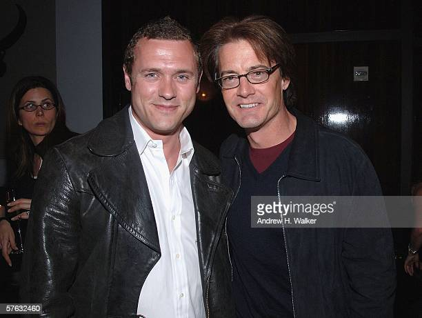 Actors Jason O'Mara and Kyle MacLachlan attend the Gersh Agency Celebration of Upfronts on May 16 2006 in New York City