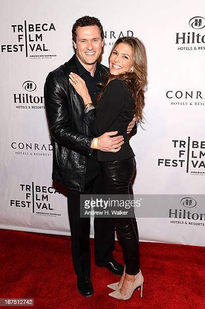Actors Jason O'Mara and Paige Turco attend as Conrad Hotels Resorts Brings Smart Luxury to 2013 Tribeca Film Festival at Conrad New York on April 25...