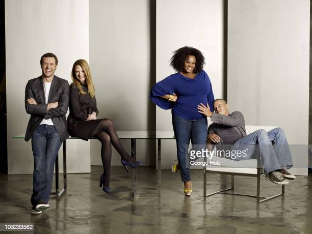Actors Jason O'Mara Anna Torv Jill Scott and Travis Fimmel are photographed for People Magazine on February 8 2009 in New York City PUBLISHED IMAGE