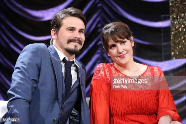 Actors Jason Ritter and Melanie Lynskey attend IMDb LIVE Viewing Party presented by OREO chocolate candy bar on February 26 2017 in Hollywood...