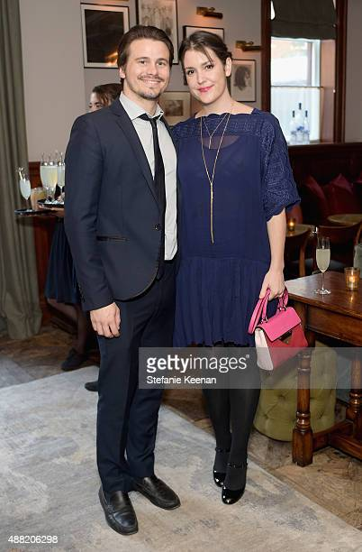Actors Jason Ritter and Melanie Lynskey attend The Meddler TIFF party hosted by GREY GOOSE Vodka and Soho Toronto at Soho House Toronto on September...