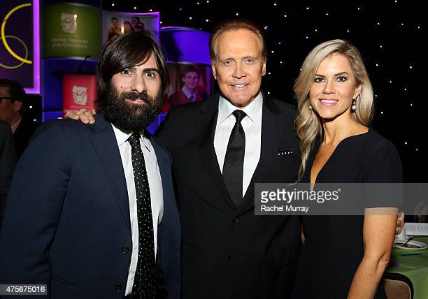 Actors Jason Schwartzman Lee Majors and Faith Majors attend United Friends Of The Children Brass Ring Awards Dinner honoring Roy Price and Ande...