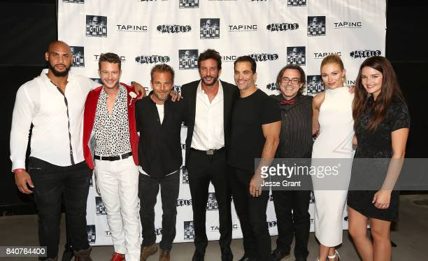 Actors Jason Scott Jenkins Nick Roux Stephen Dorff producer Tommy Alastra actor Johnathon Schaech writer Jared Rivet actors Alyssa Julya Smith and...
