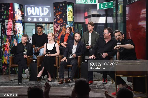Actors Jay Ali Joanne Walley Wilson Bethel Elden Henson Deborah Ann Woll Charlie Cox writer Erik Oleson visit Build Series with moderator Matt Forte...