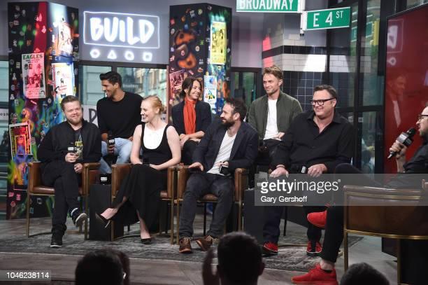 Actors Jay Ali Joanne Walley Wilson Bethel Elden Henson Deborah Ann Woll Charlie Cox writer Erik Oleson visit Build Series to discuss the Netflix...