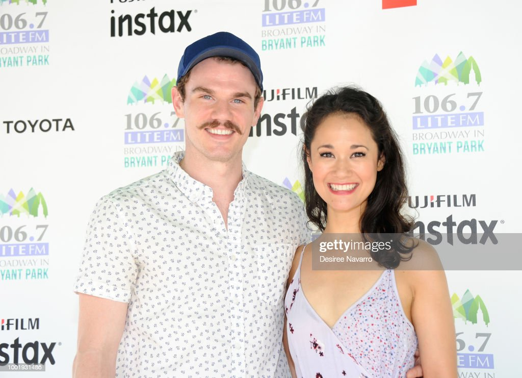106.7 LITE FM's Broadway In Bryant Park - July 19, 2018