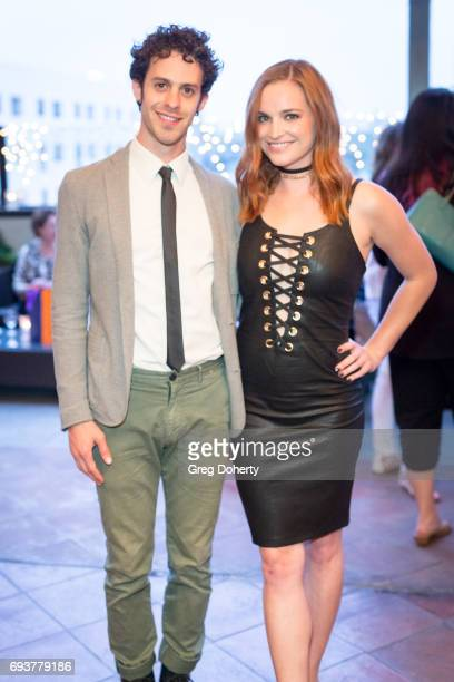 Actors Jay DeYonker and Raeden Greer attend the Landing Up World Premiere during 20th Annual Dances With Films at TCL Chinese 6 Theatres on June 7...