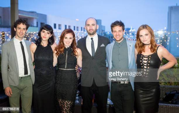 Actors Jay DeYonker Marzy Hart Writer Producer Actress Stacey Maltin Director Dani Tenenbaum and Actors Ben Rappaport and Raeden Greer attend the...