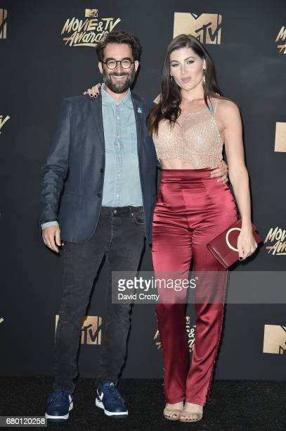 Actors Jay Duplass and Trace Lysette attend the 2017 MTV Movie And TV Awards at The Shrine Auditorium on May 7 2017 in Los Angeles California