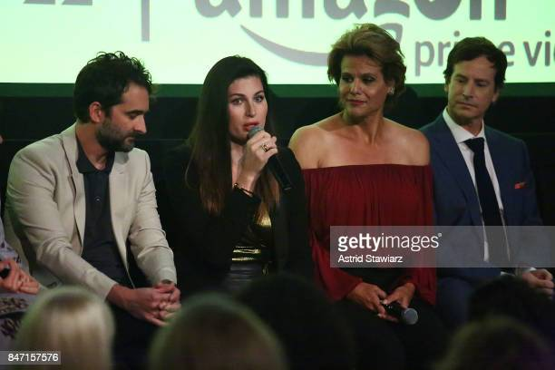 Actors Jay Duplass Trace Lysette Alexandra Billings and Rob Huebel attend a screening event for members of the Screen Actors Guild in New York for...