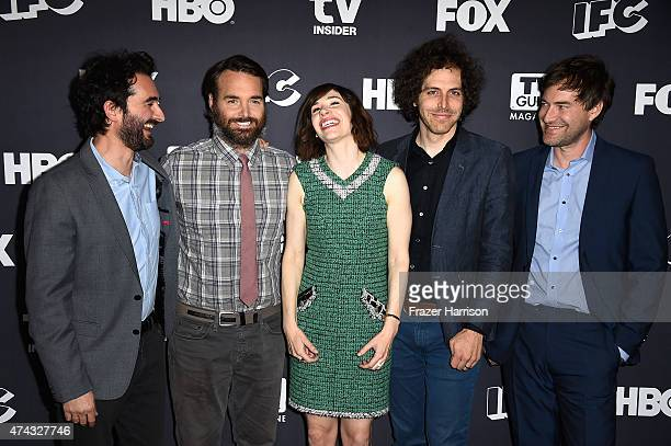 Actors Jay Duplass Will Forte Carrie Brownstein Jon Krisel Mark Duplass attend For Your Consideration Event Hosted By IFC FOX And HBO at Samuel...