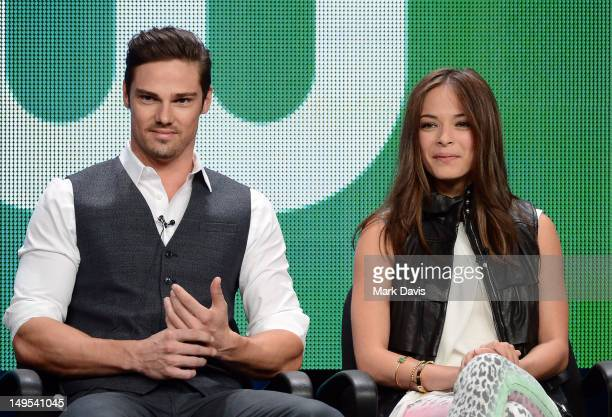 Actors Jay Ryan And Kristin Kreuk Speak At The Beauty Beast Discussion