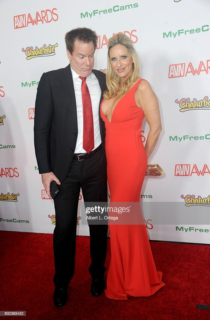 Actors Jay West and Jodi West arrive at the 2017 Adult