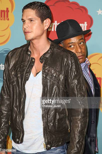 Actors JD Pardo and Giancarlo Esposito arrive at Entertainment Weekly's annual ComicCon celebration at Float at Hard Rock Hotel San Diego on July 20...