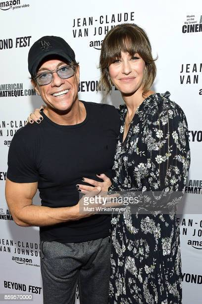 Actors JeanClaude Van Damme and Kat Foster attend the Beyond Fest screening and Cast/Creator panel of Amazon Prime Video's exclusive series...