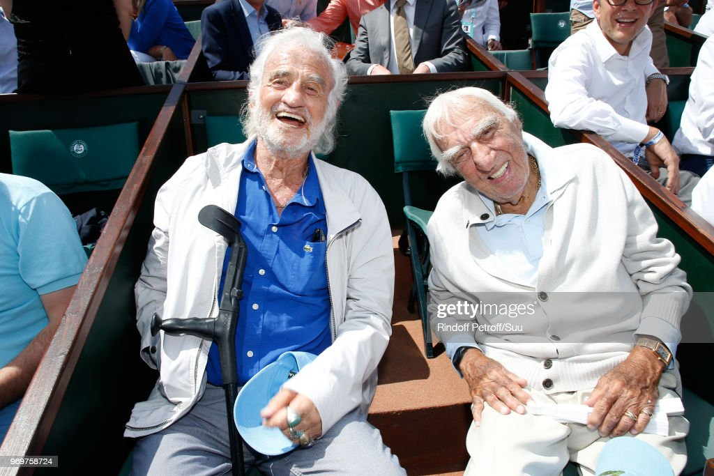 Celebrities At 2018 French Open - Day Thirteen