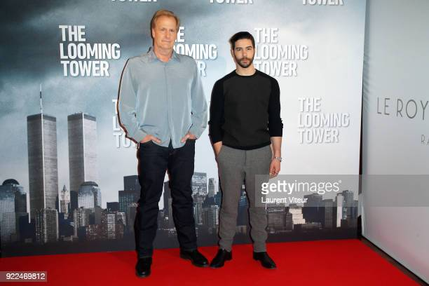Actors Jeff Daniels and Tahar Rahim attend The Looming Tower Special Screening The New Series broadcasted on Amazon Prime Video at Hotel Royal...