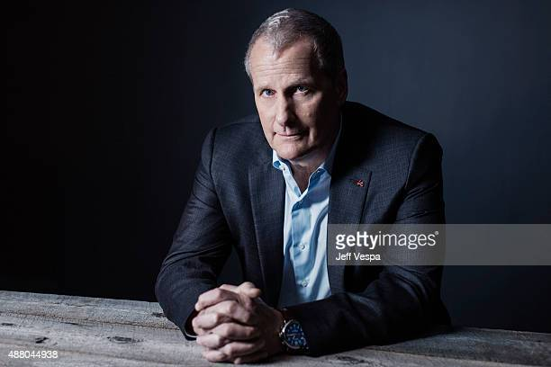 Actors Jeff Daniels from The Martian poses for a portrait at the 2015 Toronto Film Festival at the TIFF Bell Lightbox on September 11 2015 in Toronto...