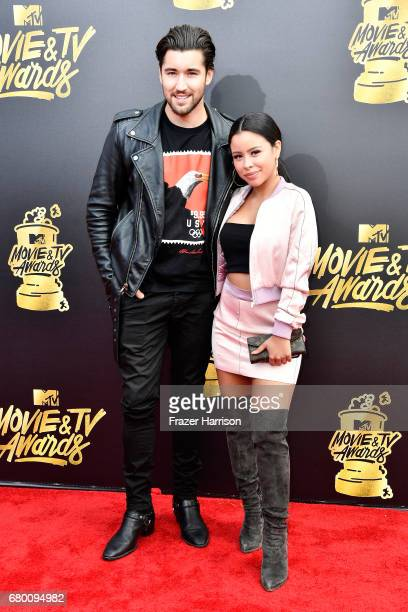 Actors Jeff Wittek and Cierra Ramirez attend the 2017 MTV Movie And TV Awards at The Shrine Auditorium on May 7 2017 in Los Angeles California