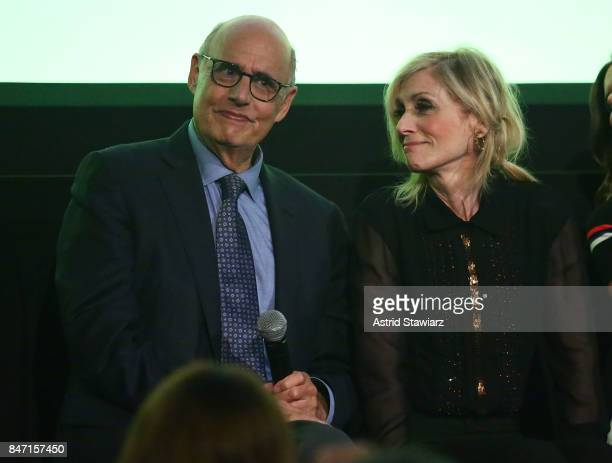 Actors Jeffrey Tambor and Judith Light attend a screening event for members of the Screen Actors Guild in New York for the Amazon Prime series...