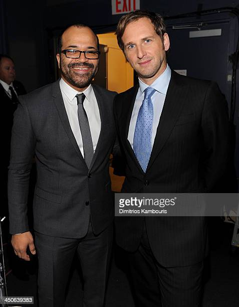 Actors Jeffrey Wright and Josh Lucas attend 2013 CNN Heroes: An All Star Tribute at The American Museum of Natural History on November 19, 2013 in...