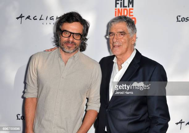 Actors Jemaine Clement and Elliott Gould attend the premiere of 'Humor Me' during 2017 Los Angeles Film Festival at Arclight Cinemas Culver City on...