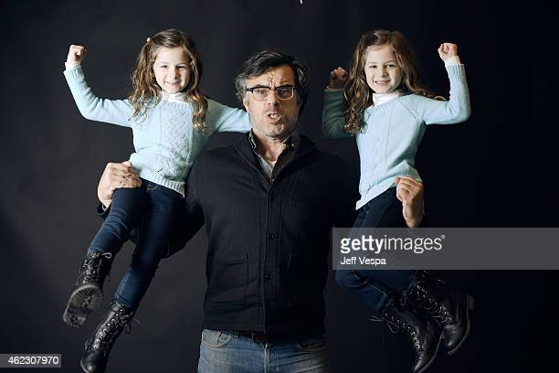 Actors Jemaine Clement Gia Gadsby and Aundrea Gadsby of 'People Places Things' pose for a portrait at the Village at the Lift Presented by McDonald's...