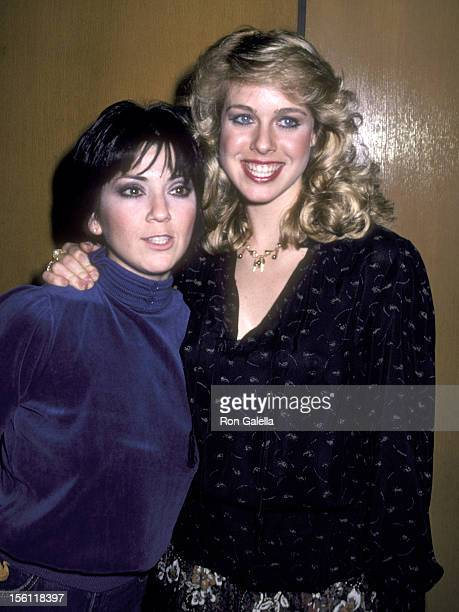 Actors Jenilee Harrison and Joyce DeWitt attend the 'Angel Dusted' Screening on February 13 1981 at DGA Theatre in West Hollywood California