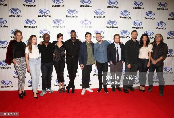 Actors Jenna Elfman Alycia Debnam Carey Lennie James Maggie Grace Colman Domingo Showrunner Andrew Chambliss Showrunner Ian B Goldberg Executive...