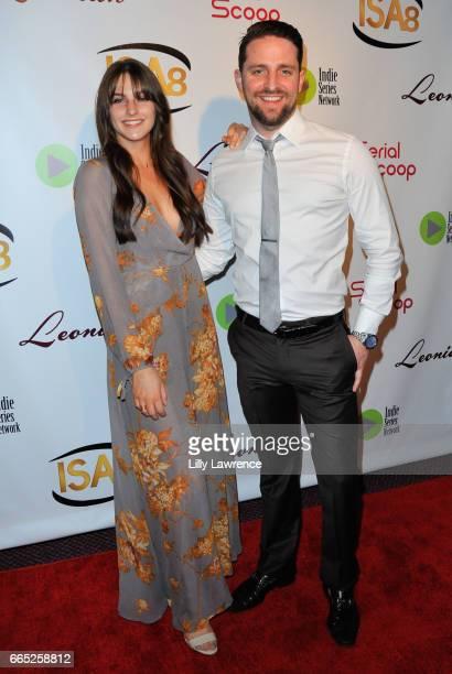 Actors Jenna Stone and Nick Yandle arrive at the 8th Annual Indie Series Awards at The Colony Theater on April 5 2017 in Burbank California