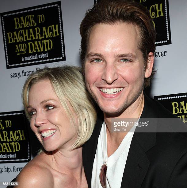 Actors Jennie Garth and Peter Facinelli arrive at Back to Bacharach and David Opening Night at Henry Fonda Theatre on April 19 2009 in Hollywood...