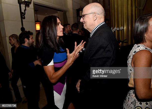 Actors Jennifer Connelly and Jeffrey Tambor attend the TIFF/InStyle/HFPA Party during the 2016 Toronto International Film Festival at Windsor Arms...