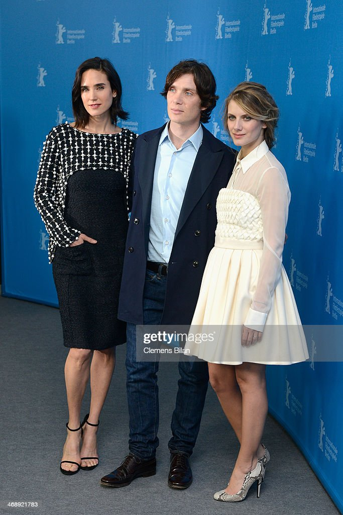 Actors Jennifer Connelly, Cillian Murphy and Melanie Laurent attend the 'Aloft' photocall during 64th Berlinale International Film Festival at Grand Hyatt Hotel on February 12, 2014 in Berlin, Germany.