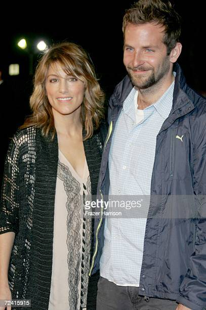 Actors Jennifer Esposito and Bradley Cooper arrives at the Paramount Vantage premiere of Babel held at the FOX Westwood Village theatre on November 5...