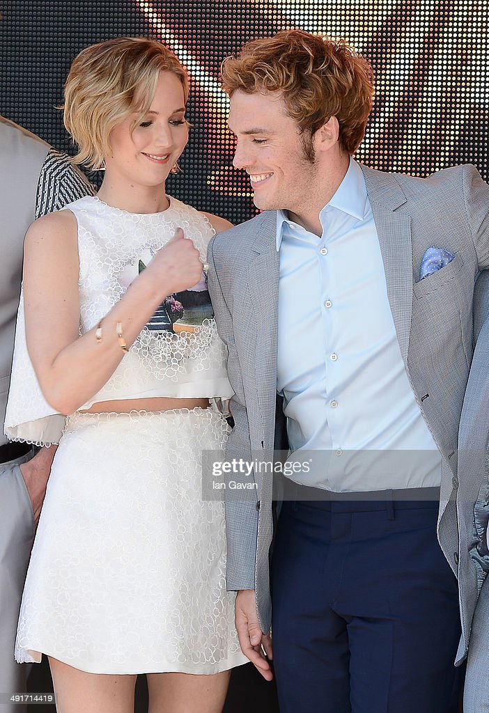 """""""The Hunger Games: Mockingjay Part 1"""" Photocall - The 67th Annual Cannes Film Festival : News Photo"""