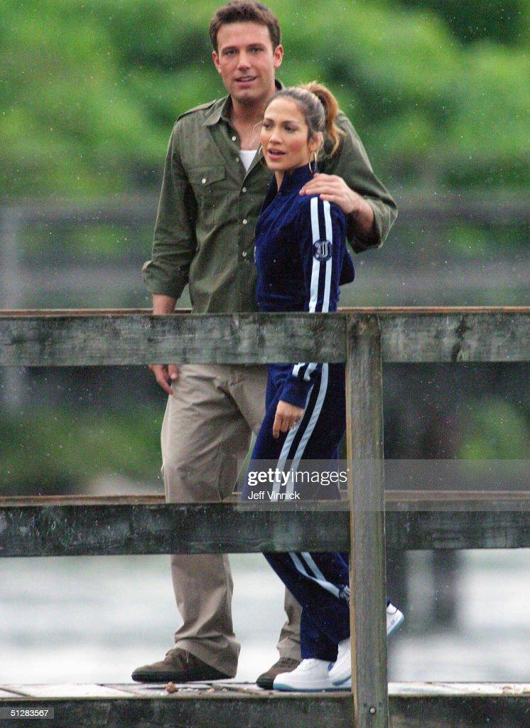 Lopez and Affleck walk in Vancouver : Foto di attualità