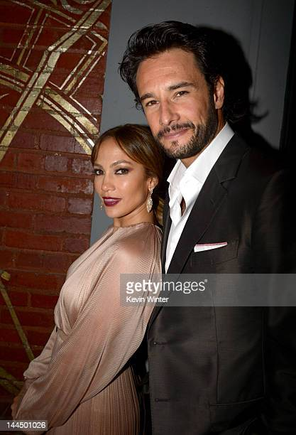 Actors Jennifer Lopez and Rodrigo Santoro arrive at the premiere of Lionsgate's 'What To Expect When You're Expecting' held at Grauman's Chinese...