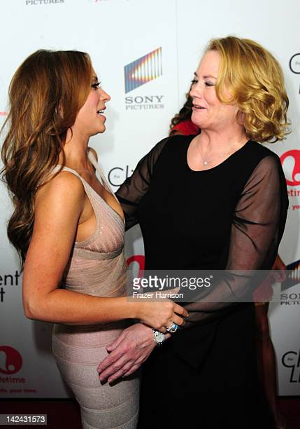Actors Jennifer Love Hewitt and Cybill Sherperd attend the launch party for Lifetime's new series 'The Client List' at Sunset Tower on April 4 2012...