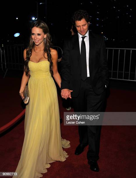 Actors Jennifer Love Hewitt and Jamie Kennedy arrives at the 13th Annual Entertainment Tonight and People Magazine Emmys After Party at the Vibiana...