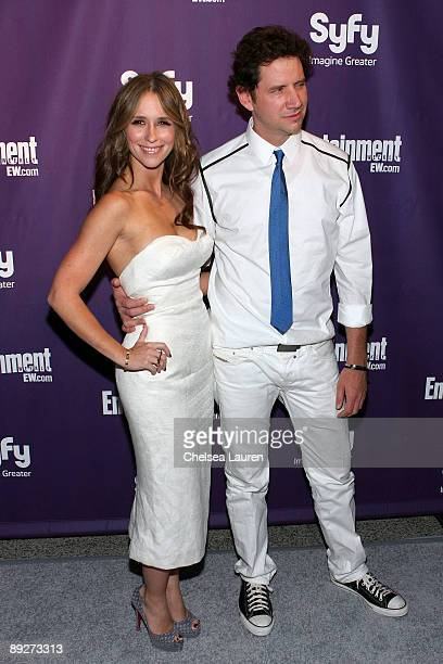 Actors Jennifer Love Hewitt and Jamie Kennedy attend the Entertainment Weekly and Syfy party celebrating Comic-Con at Hotel Solamar on July 25, 2009...