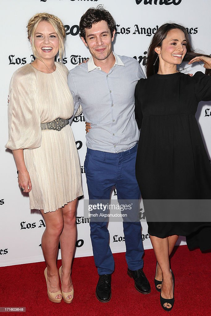 Actors Jennifer Morrison, Adam Brody, and Mia Maestro attend the premiere of 'Some Girl(s)' at Laemmle NoHo 7 on June 26, 2013 in North Hollywood, California.