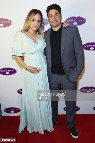 Actors Jenny Mollen and Jason Biggs attend the Animal Haven 50th Anniversary Gala at Capitale on June 14 2017 in New York City